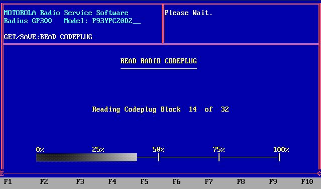 GP300 reading codeplug